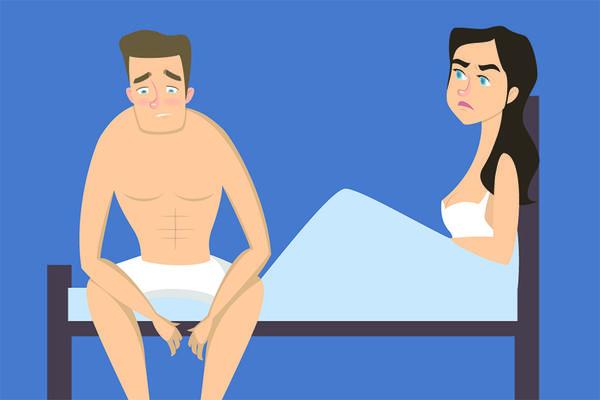 lipsa dorinței sexuale erecție slabă