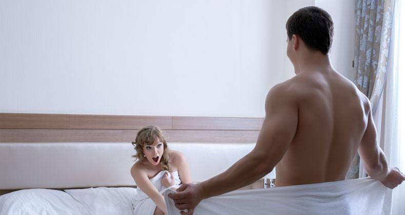 erecție slabă din cauza excitării