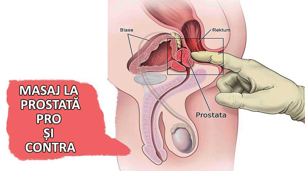 erecție și masaj de prostată