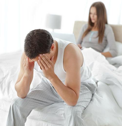 disfunctie erectila la tineri erectie instabila flasca