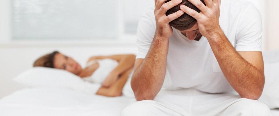 erecția și excitația dispar